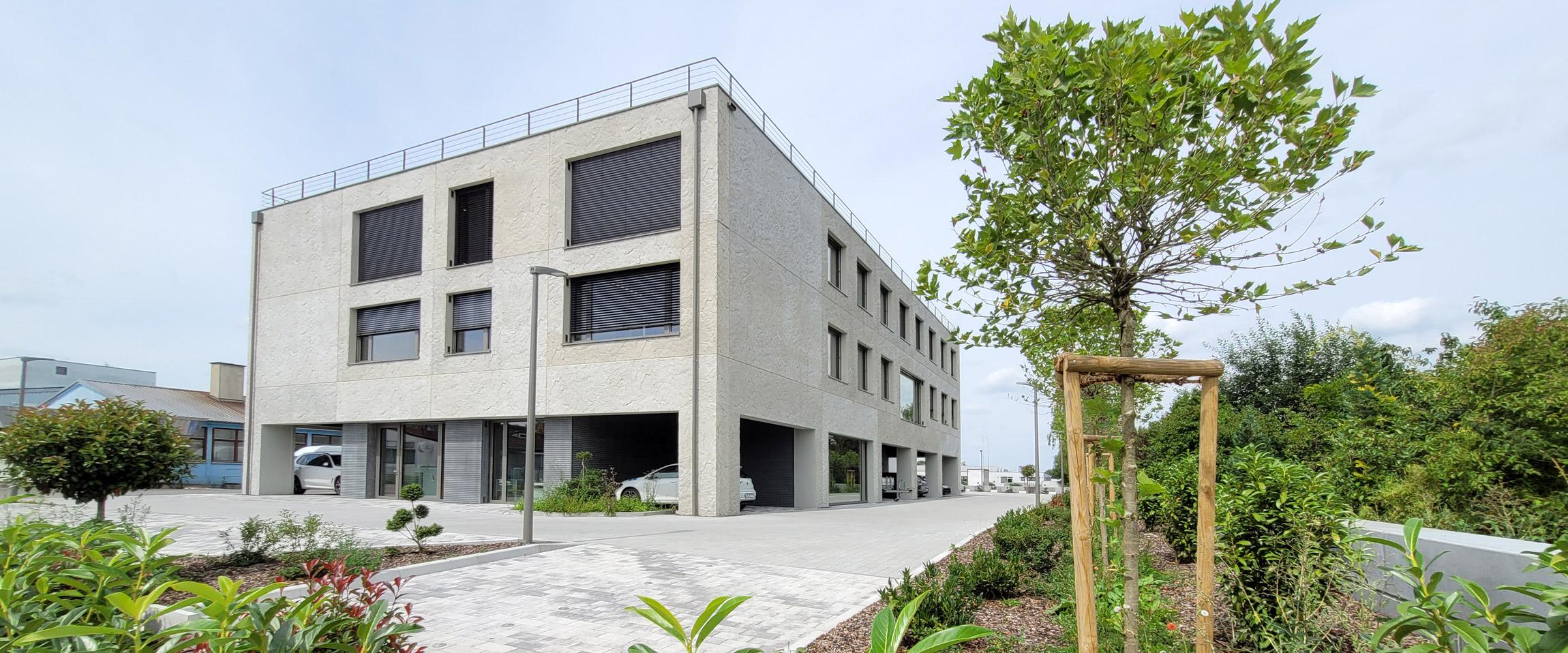 Neubau Zuber Hauptquartier